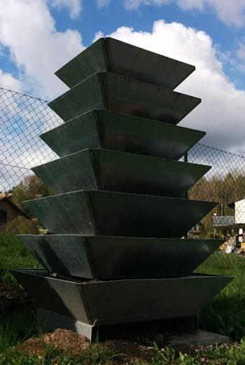 Ein Kräuterturm