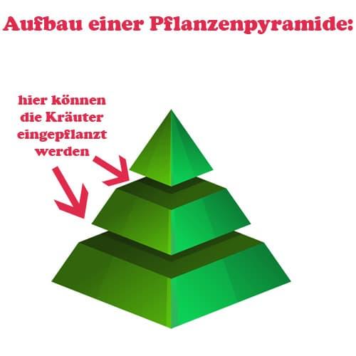 Pflanzenpyramide